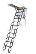 Scissors loft ladders