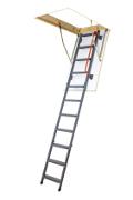 Metal section loft ladders