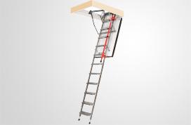 Escaleras métalicas de tramos